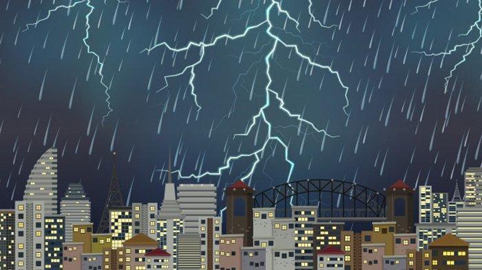 2 Wilayah Berpotensi Hujan Petir & Angin Kencang Peringatan Dini BMKG Hari Ini 27 Januari 2021