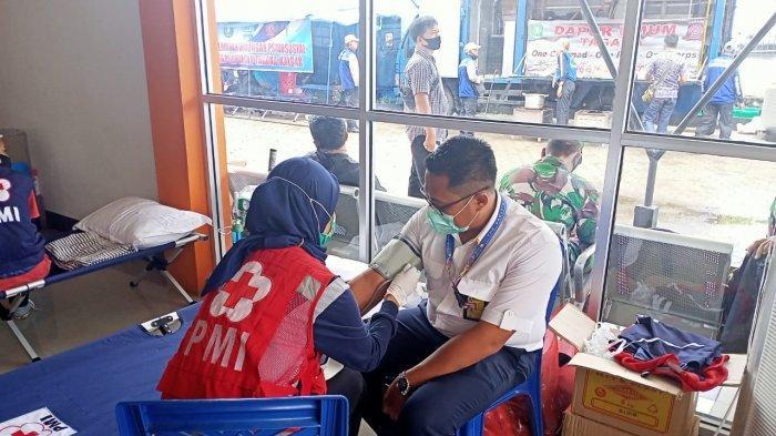 PMI Berikan Layanan Kesehatan Keluarga Korban Sriwijaya Air SJ 182 dari Kelelahan